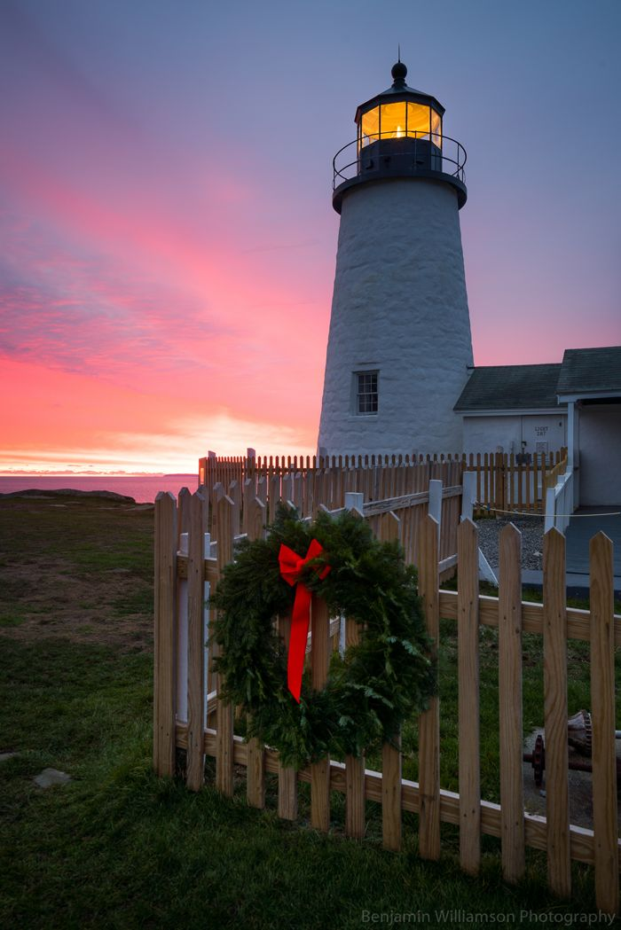 Ben was up early for sunrise this morning, capturing this scene at Pemaquid Point Lighthouse. See more and submit your #Mainelife pics: downeast.com/photos