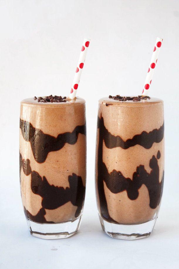 Receita de Milk Shake Vegano de Chocolate                                                                                                                                                                                 Mais