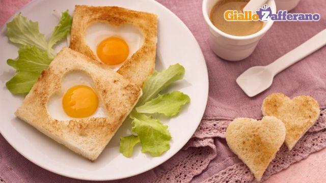 Uova di quaglia in cuore di pane  Le ricette di giallo zafferano