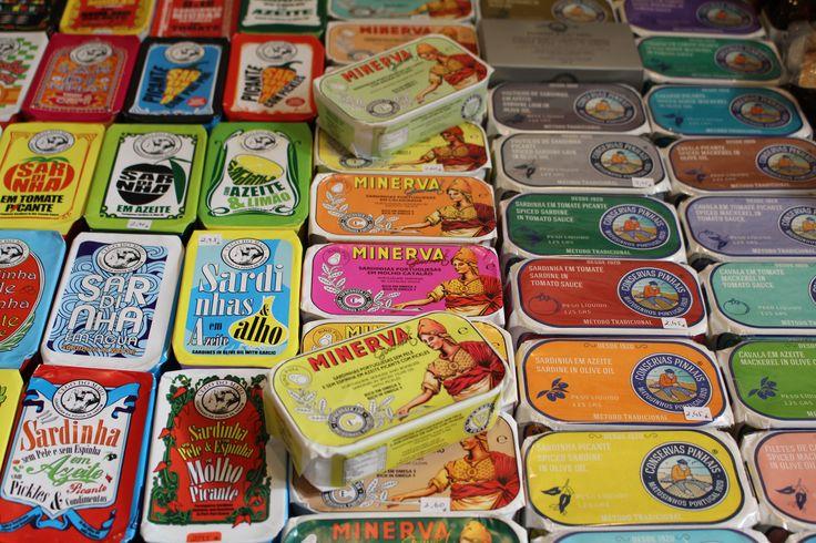 Sardines at the marketplace. Lisbon July 2014