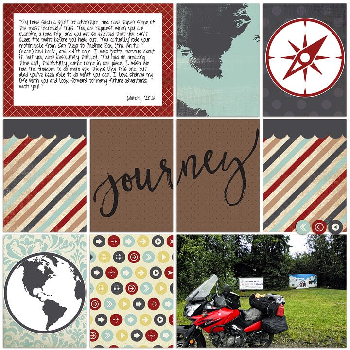 Digital pocket page by Rachael Sheedy featuring the Custom Travel Kit by Carina Gardner, available at Snap Click Supply Co here: http://www.snapclicksupply.com/custom-travel-full-collection/ #digitalscrapbooking #pocketpage
