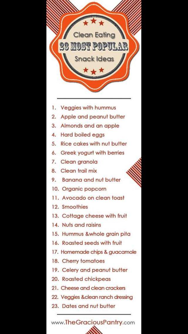Snack ideas.. 21 Day Fix