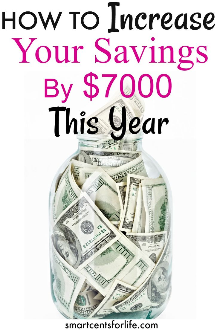 These 8 simple money saving tips will help you to save over $7000 this year! You could use this money for an emergency fund, pay off debt or a dream vacation! Increase your savings by over $7000 and Learn how to get control of your finances and save more money every year with this tips and ideas.