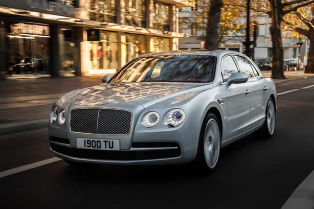 Bentley is now offering a V8 4.0-liter twin-turbo on the Flying Spur - Speed Carz