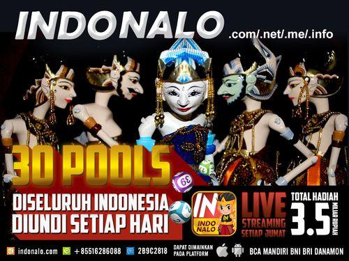 Judi SDSB Nalo : http://www.indonalo.net Agen Togel Online Indonesia Menghadirkan  Togel atau Pools 30 Kota Di Indonesia Pertama dan Satu-  Satunya di Indonesia DIUNDI SETIAP HARI http://goo.gl/qLSlS0  Main Live Streaming Setiap Hari Jumat,  Total Hadiah 3.5 Miliar Rupiah ( 1st @ Rp.1M , 2nd @  Rp.500Jt , 3rd @ Rp.250Jt ) http://goo.gl/qLSlS0  Semua Jadwal dan Hasil keluaran akan mengikuti Waktu  Indonesia Barat (WIB)  Diskon yang diberikan http://www.indonalo.net sangat berbeda dengan yang…