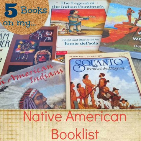 List of 5 Native American books we have used in our homeschool. | Harrignton Harmonies