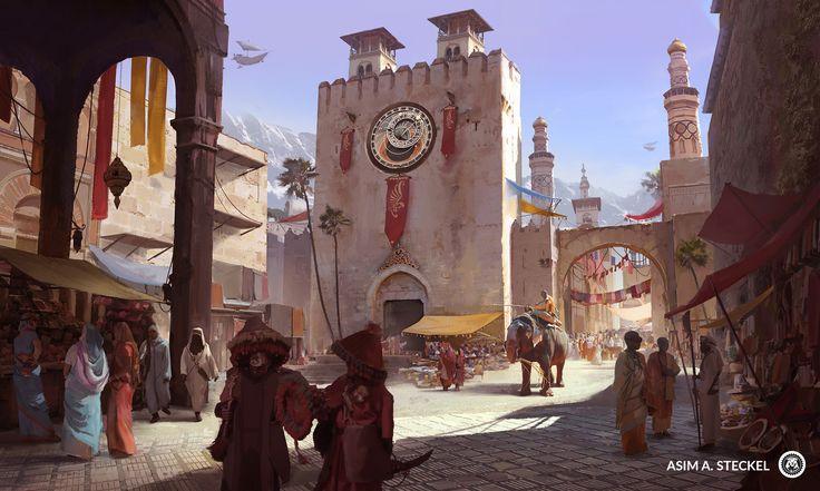 ArtStation - The Marketplace, Asim Steckel