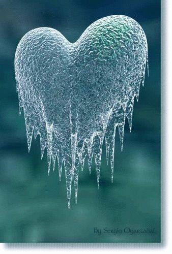 Iced Heart...beautiful!  skirting the edge here...