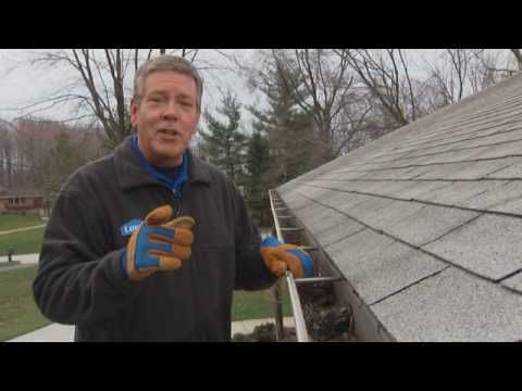 Cleaning gutters is an easy job to put off, but the longer you wait the worse it can get. Thoroughly cleaning your gutters every spring and fall will help keep them working like they're supposed to. Debris can build up and cause damage to your downspouts and cause water damage to your roof. To clean out your gutters you will need: a trowel, ladd...