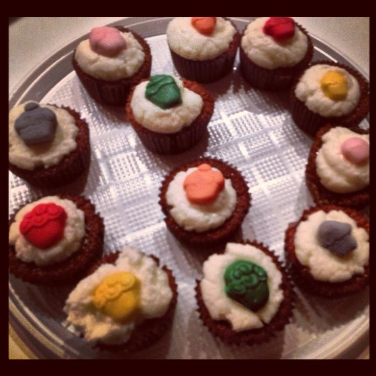 Cupcakes alla birra con crema al limone