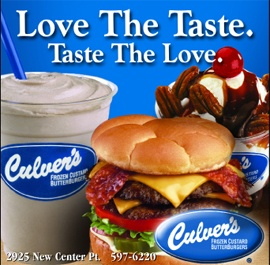 culvers.... Why is all the good food NOT in VA?
