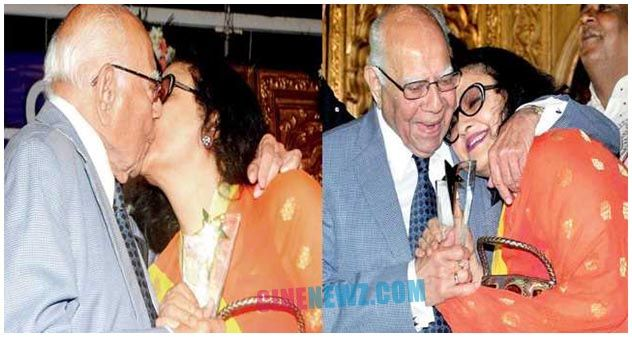 Hey Ram! Jethmalani kissed this actress openly