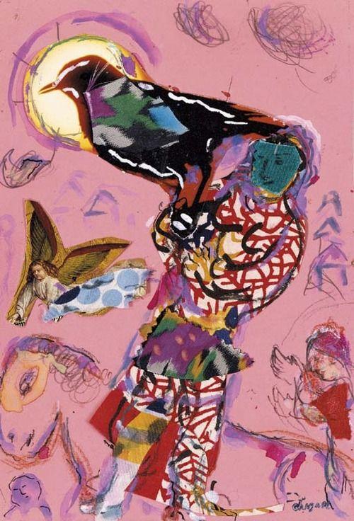Esquisse pour L'Oiseleur, Marc Chagall. (1887 - 1985) http://www.freapstuff.com/go/JohanPersyn_Jesus