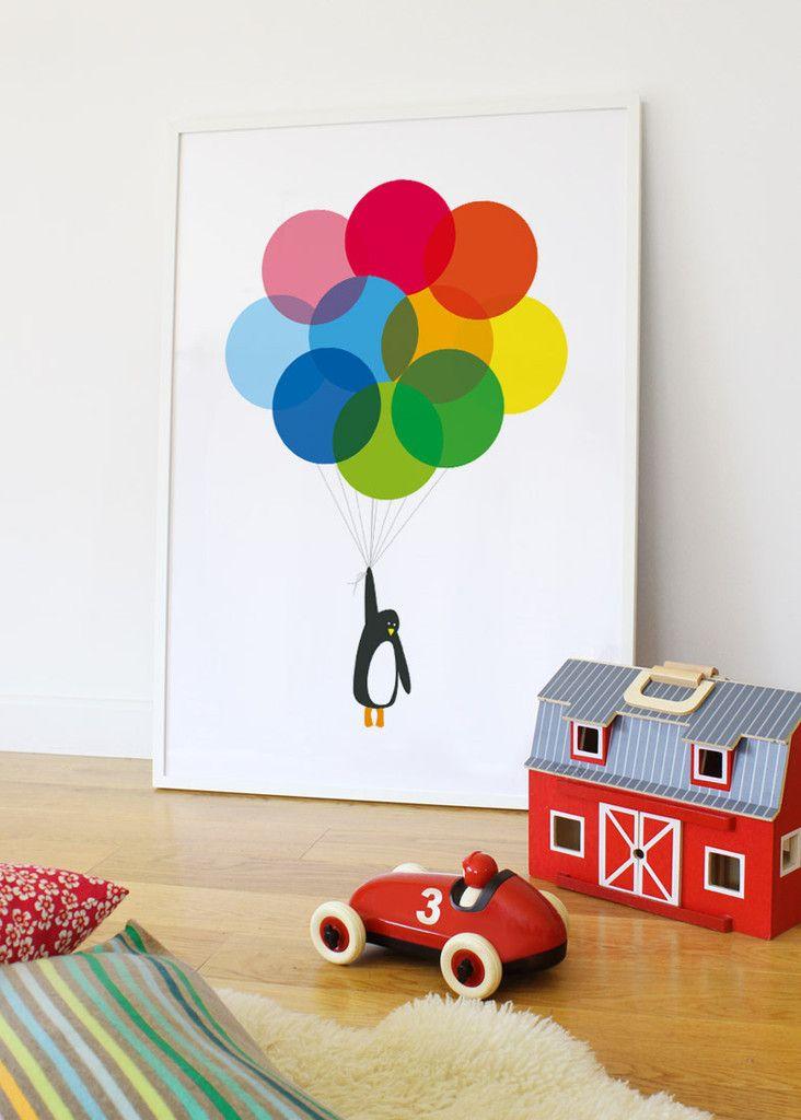 Penguin Print   Penguin Poster   Penguin Balloons   Showler & Showler