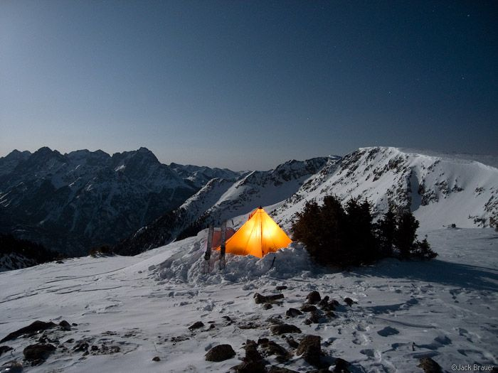 winter camp tent mountains - Google Search