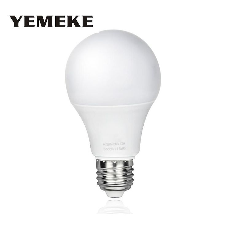 High Brightness E27 LED Bulb Light 5W 7W 9W 12W 15W Lampada LED Bombillas SMD2835 LED Spotlight bulb-  Item Type: LED Bulbs  Certification: UL,CQC,CE,FCC,RoHS,EMC,LVD  Shape: Globe  Led Bulb Type: Bubble Ball Bulb  Average Life (hrs): 50000  Voltage: AC220V  Brand Name: YEMEKE  Number of LED Chip: other  LED Chip Brand: Epistar  Occasion: living room  Luminous Flux: 1000 - 1999 Lumens  LED Chip Model: 2835  Base Type: E27  Color Temperature: Warm White (2700-3500K)  Beam Angle(°): 270°…
