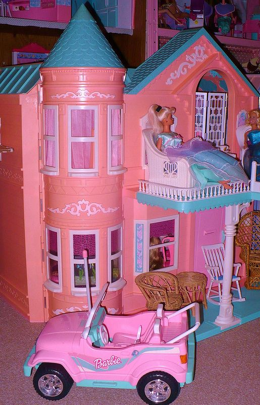 barbie dream house 90s - photo #17