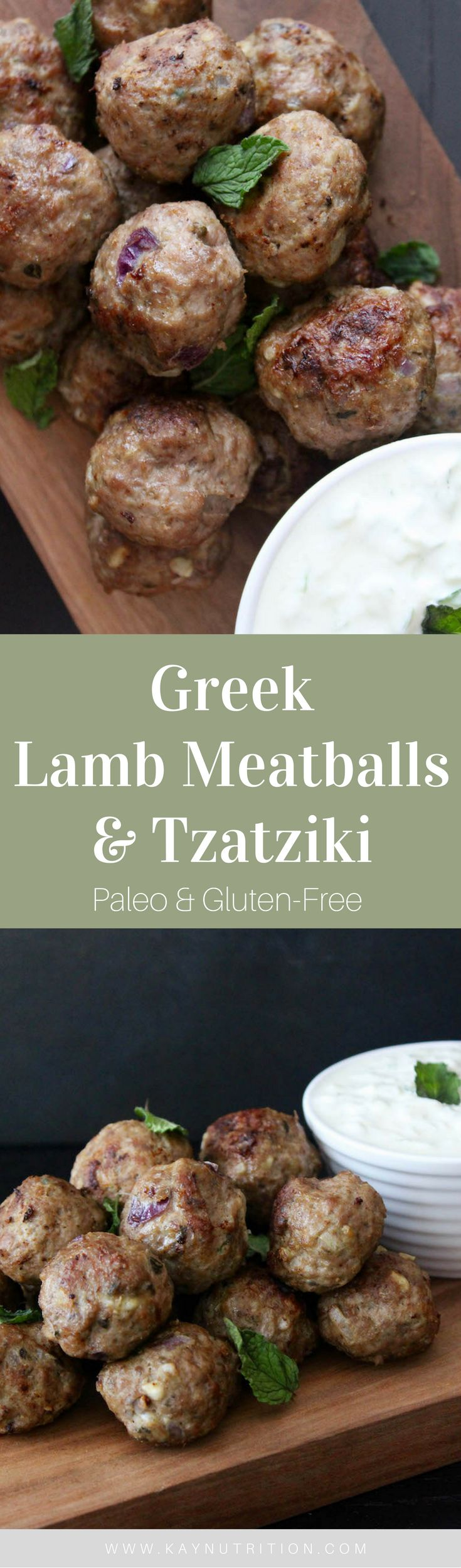These traditional Greek Lamb Meatballs are crispy on the outside, tender and juicy on the inside, and full of traditional Greek flavours.