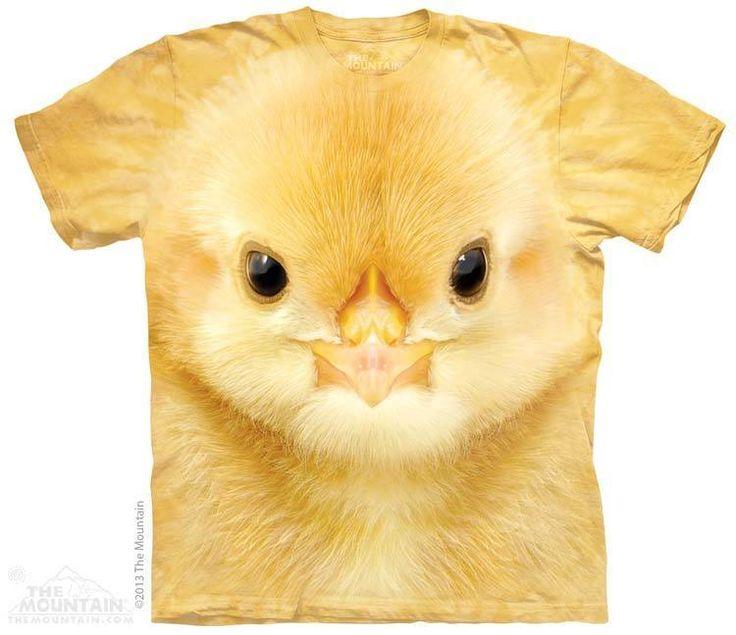 PRIKID - Big Face Baby Chick T-Shirt, $37.00 (http://prikid.eu/big-face-baby-chick-t-shirt/)