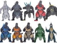 Wish | Godzilla Figures Anguirus Godzilla Jr.collection Figures toy 10PCS NEW (Color: Multicolor)