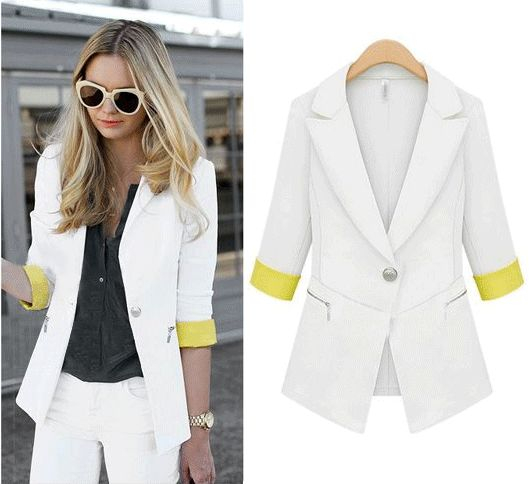 Aliexpress.com : Buy Fashion 2013 autumn fashion slim three quarter sleeve short design slim small suit jacket 9080 from Reliable suit jacket suppliers on Cherry&jiang. $25.40
