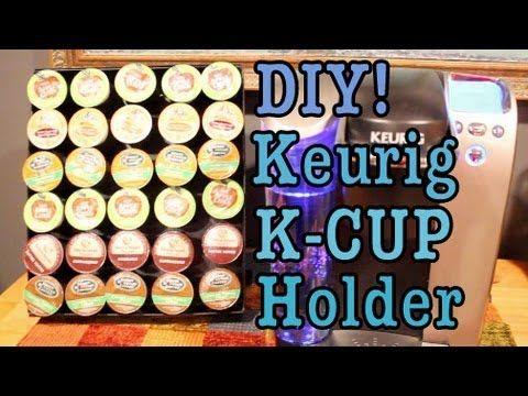 45 best keurig images on pinterest k cup storage k cups and getting organized. Black Bedroom Furniture Sets. Home Design Ideas