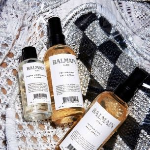 We tried the new Balmain hair products. This is what they're like