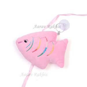 Wall Hanging Fish Queen Soft Toy Rakhi