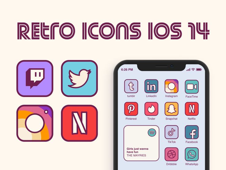 - 7944355c8b10d63e8849a7a5242a38e5 - 📱😍 Have you customized your new iOS 14 home screen yet? Check out a handful of designer-made icon sets to customize yo…