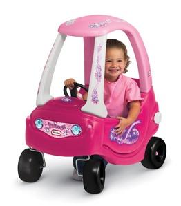 Een leuke meisjes auto