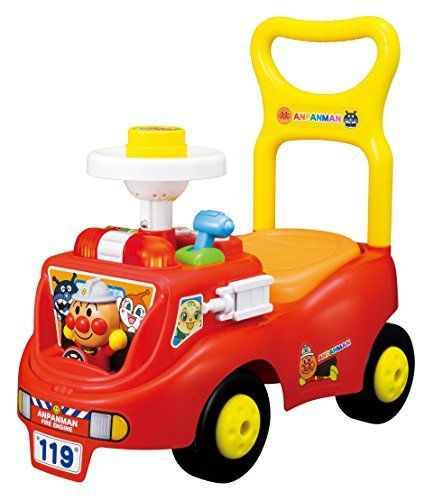 Anpanman Jakajaka fire truck by Agatsuma. Parallel import goods. The main country of manufacture: Japan. (C) Takashi Yanase / Froebel Museum ? TMS ? NTV. Age: 1.5 years old to 5 years old. Body size: w275 x h490 x d540.