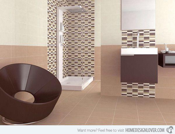 18 Sophisticated Brown Bathroom Ideas | Home Design Lover