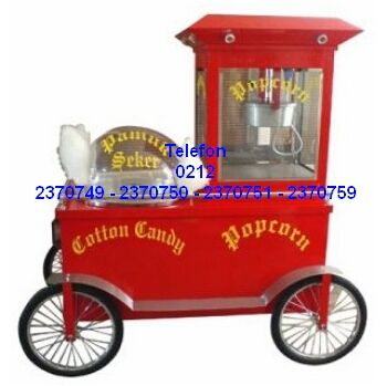 Mısır Patlatma Makineleri : Pamuk Şekeri Ve Mısır Patlatma Makinası Satış Telefonu 0212 2370749