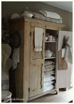 Beautiful Wood Cupboard