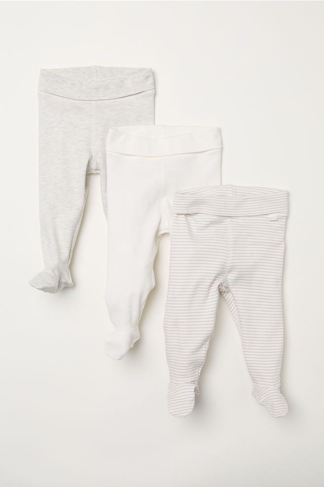 43475f9954f4d 3-pack Pants with Feet | New Baby | Pants, Newborn outfits, Baby wearing