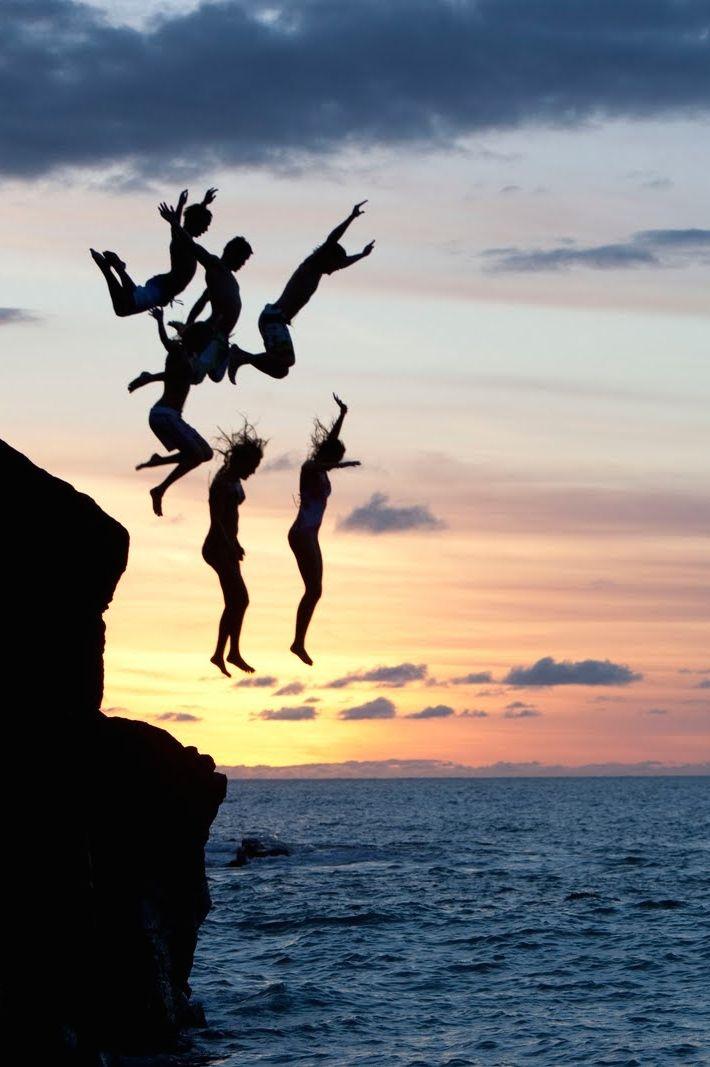 salto de acantilado