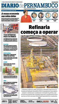 REFINARIA COMEÇA A OPERAR  A Petrobras confirmou, ontem, que iniciou a admissão de gás natural na Unidade de Destilação Atmosférica (UDA). A operação tem como objetivo preparar a unidade para o recebimento e circulação de petróleo, o que ocorrerá nos próximos dias. A próxima etapa será o acendimento do forno para que se inicie o processo de destilação (separação) dos componentes.