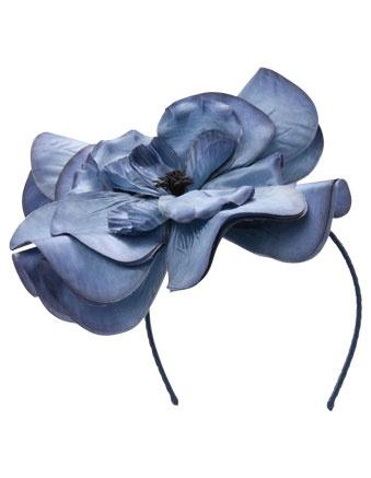 MORGAN & TAYLOR large flower fascinator #stakesday #myerspringfashion