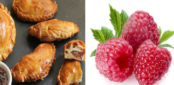 Pastelitos de Frambuesa y Queso - Recetas de Cocina - Cocinemos.com.ve
