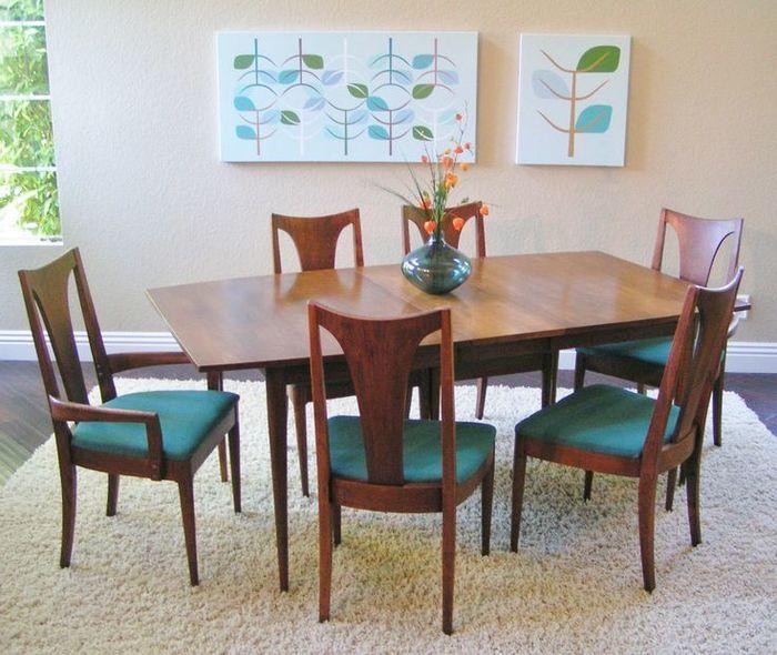 Broyhill Brasilia Dining Room Set Mid Century Dining Mid