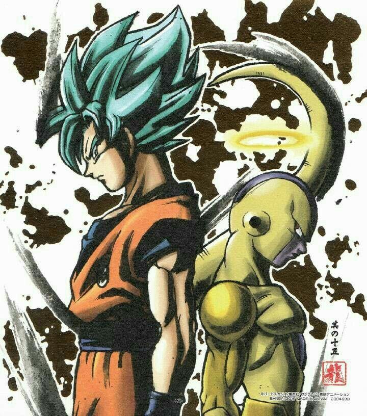 Dbs Goku Vs Freezer Dragon Ball Z Dragons Et Dragon Ball Gt