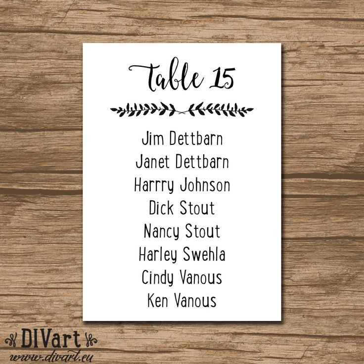 59 best Redneck Wedding images on Pinterest Marriage, Wedding - free printable seating chart