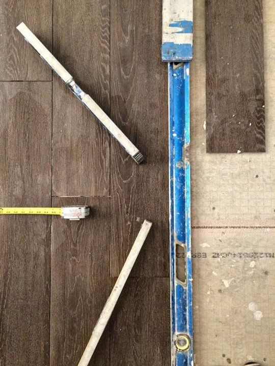 This wood floor isn 39 t wood at all a cheap durable for Inexpensive flooring alternatives