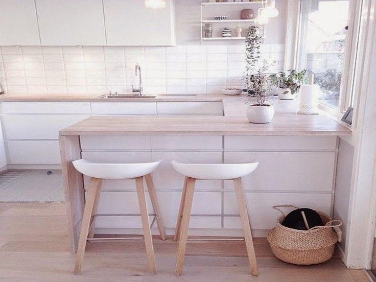Mat Beyaz Mutfak Dolapları