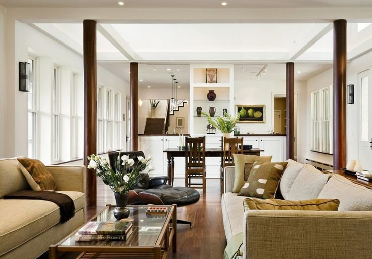 great family space, polished but very comfy