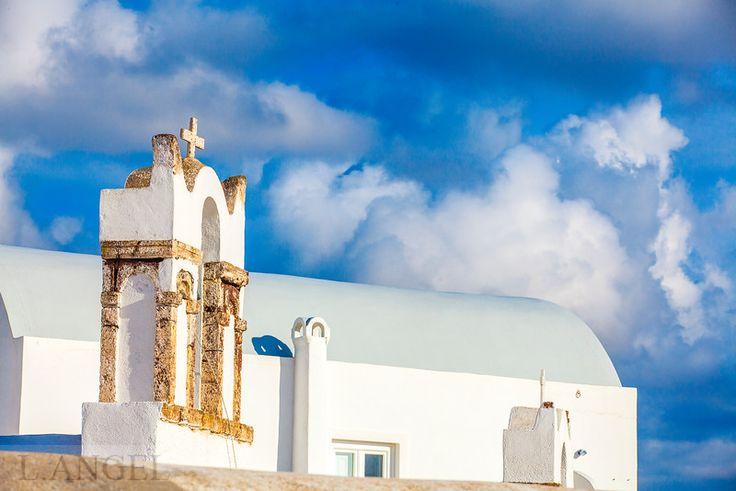 Santorini; Greece; Aegean Sea
