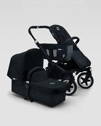 Special Edition Donkey All Black  Mono Stroller by Bugaboo at Neiman Marcus.