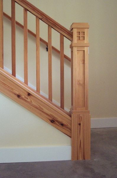 Perfect Awesome Craftsman Style Newel Post