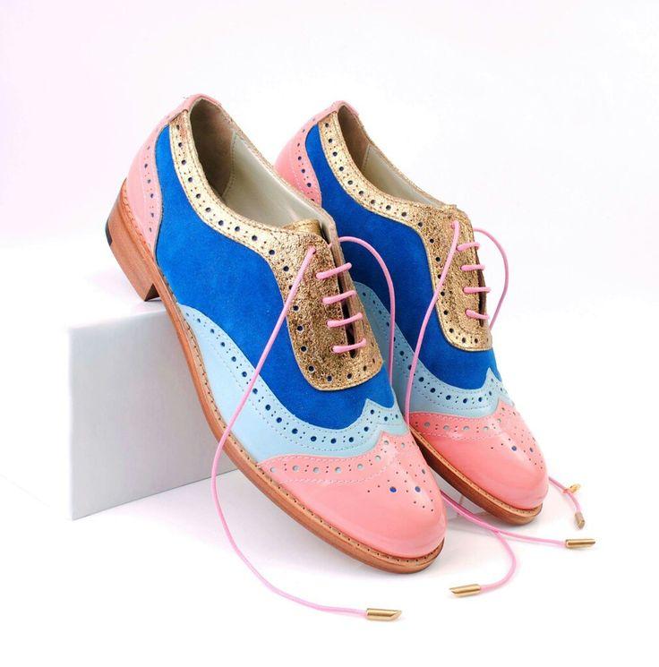 Original ABO #multicolor brogues! Available at www.abo-shoes.com #aboshoes #ABO #abo-shoes #shoes #brogues #oxfords #colors #design #fashion #belgrade #style #streetstyle