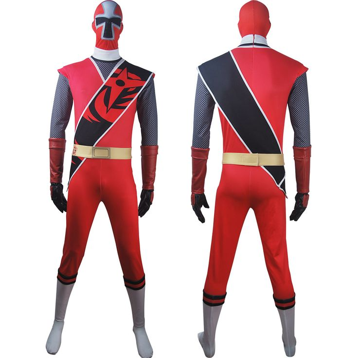 Power Rangers Ninja Steel cosplay Red Ranger Brody Romero suit costume outfit props gift toys halloween costume